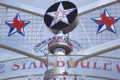 Indichi il segno giusto del Texas, la stella, mappa Immagini Stock Libere da Diritti