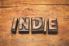 Indie hölzerne Weinlese stockfotos