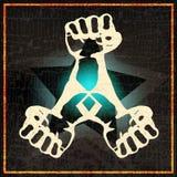 Indie Nacht oder DJ-gesetztes Plakat lizenzfreie abbildung