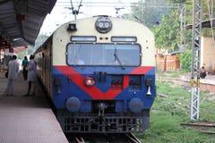 Indien-Bahnstation Lizenzfreies Stockfoto