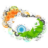 Indien bakgrund vektor illustrationer