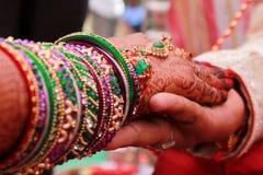 Indien bröllop - Indien Royaltyfria Bilder