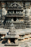 Indien Chennakesava tempel i Hassan Royaltyfri Foto