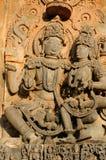 Indien Chennakesava tempel i Hassan Royaltyfria Foton