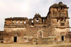 Indien, Chittorgarh: Zitadelle lizenzfreie stockfotografie