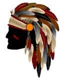 Indien d'Amerique indigène Photos libres de droits