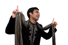 Indien dans la pose de danse   Images libres de droits