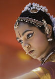 Indien dansare royaltyfria foton