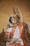Indien dansare arkivbild