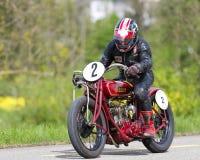Indien de motocyclette de cru Photos libres de droits