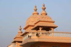 Indien, Delhi, frommer Hinduismustempelkomplex Stockfotografie
