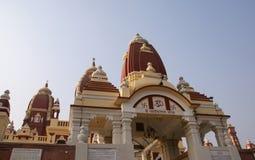 Indien, Delhi, frommer Hinduismustempelkomplex Lizenzfreies Stockbild