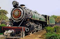 Indien: ein der ältesten laufenden Lokomotive lizenzfreie stockfotos