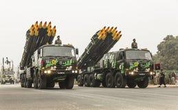 Indien feiern 67. Tag der Republik am 26. Januar Lizenzfreie Stockfotos