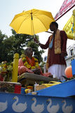Indian Festival, Ratha Yatra. Royalty Free Stock Photos