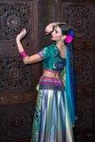 Indien flicka Fotografering för Bildbyråer