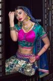 Indien flicka Arkivfoto