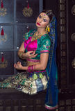 Indien flicka Royaltyfria Foton