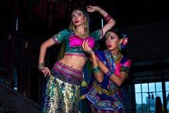 Indien flickor Arkivfoton