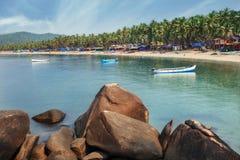 Indien, Goa, Palolem-Strand Stockfotografie