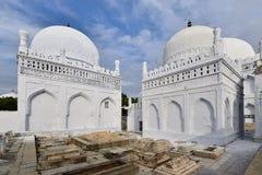 Indien, Gulbarga, Heft Gumbad-Grab stockbild