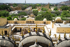 Indien Hawa Mahal Royaltyfri Foto