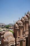Indien Hawa Mahal Arkivbilder
