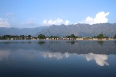 INDIEN Himalayas Arkivbilder