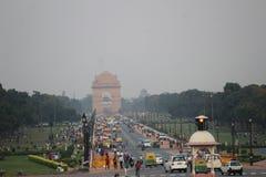 Indien an Indien-Tor Stockfotografie