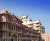 Indien jaipur Stadt-Palast-Palast des Maharadschas stockfotos