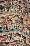 Indien Kapaleeswarar tempel, Chennai arkivbilder