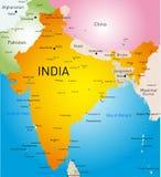 Indien land stock illustrationer