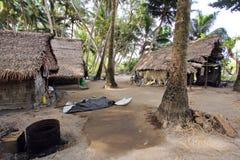 Indien lantliga hus Fotografering för Bildbyråer