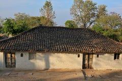 Indien lantliga hus och lendscapes Royaltyfria Foton