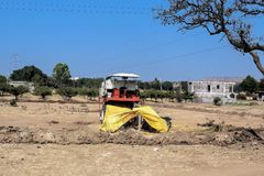 Indien lantliga hus och lendscapes Royaltyfri Foto