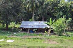 Indien lantliga hus och lendscapes Royaltyfri Bild