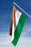 Indien-Markierungsfahne Lizenzfreie Stockfotografie