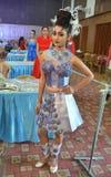 Indien modeshow Arkivfoton