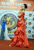 Indien modeshow Royaltyfria Bilder