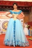 Indien modeshow Royaltyfri Fotografi