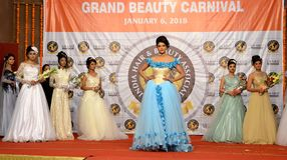 Indien modeshow Fotografering för Bildbyråer