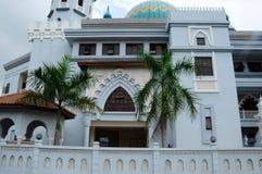 Indien muslimsk moské i Klang Arkivbild