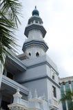 Indien muslimsk moské i Klang Arkivbilder