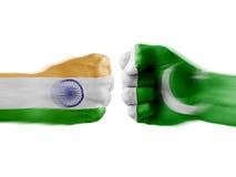 Indien x Pakistan lizenzfreies stockfoto