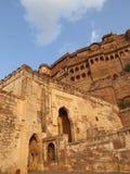Indien-Palast: Meherangarh Fort in Jodphur Lizenzfreies Stockfoto