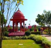 Indien paviljong Arkivbild