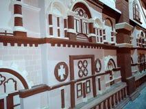 Indien paviljong gjord gjord textur Royaltyfri Foto