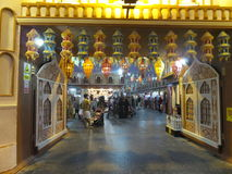 Indien paviljong på den globala byn i Dubai, UAE Royaltyfri Fotografi