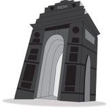 Indien port vektor illustrationer