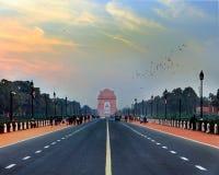 Indien port Arkivbild